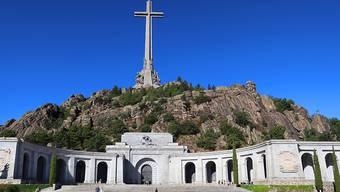 Das Valle de los Caídos (Tal de Gefallenen) ist eine monumentale Gedenkstätte in der Nähe von El Escorial in der Sierra de Guadarrama in Spanien. Hier befindet sich die Grabstätte des Ex-Diktators Franco. (Archivbild)