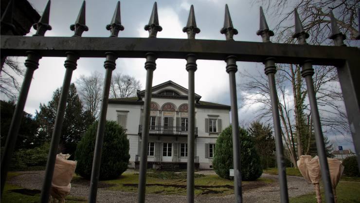 Villa Malaga, an der Schützenmattstrasse 7 in Lenzburg. Hier befand sich das Büro des verurteilten Anwalts Padrutt.