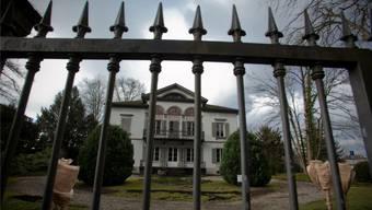 Villa Malaga an der Schützenmattstrasse 7 in Lenzburg: Hier befand sich das Büro des umstrittenen Anwalts Padrutt.