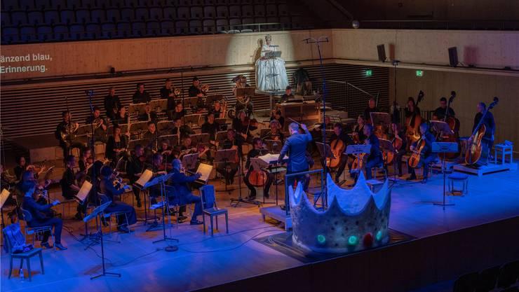 Das Auge hört mit: «Die Schneekönigin» mit dem Tonhalle Orchester. Tom Kawara