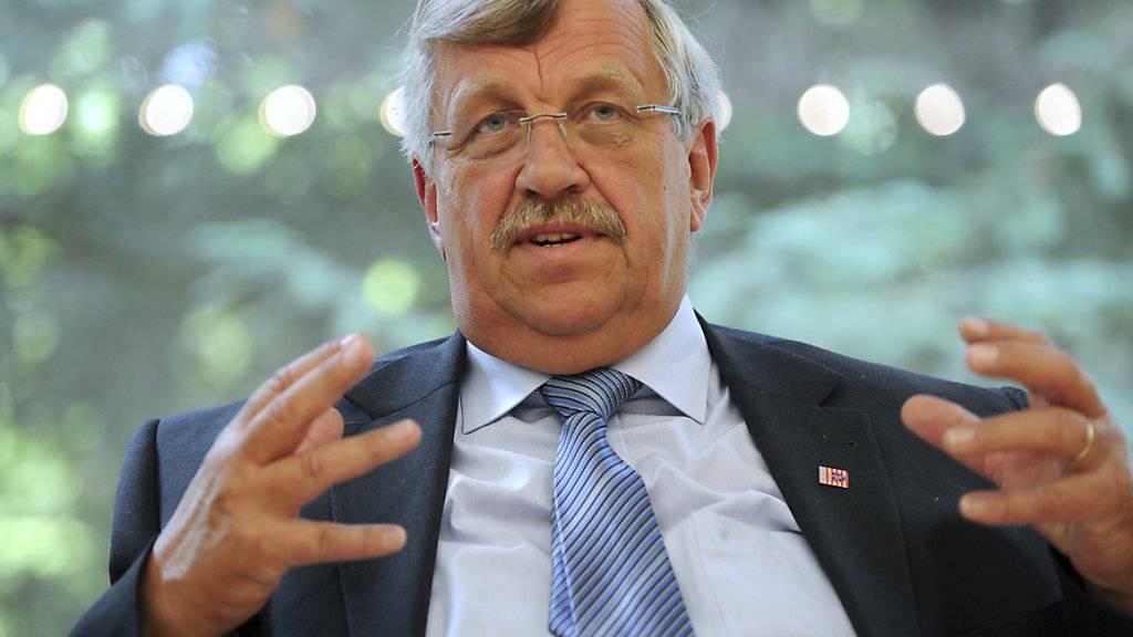 Der Kasseler Regierungspräsident Walter Lübcke (in einer Aufnahme vom Juni 2012).