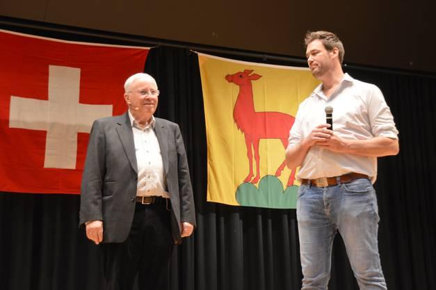 Organisiert worden war der Anlass von der SVP Bezirk Laufenburg mit Präsident Christoph Riner.