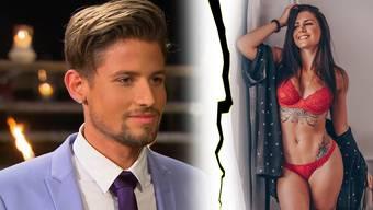 Jonas hat eine überraschende Antwort für BacheloretteAndrina Santoro.