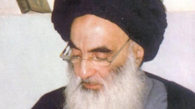 Iraks schiitischer Grossayatollah Ali al-Sistani