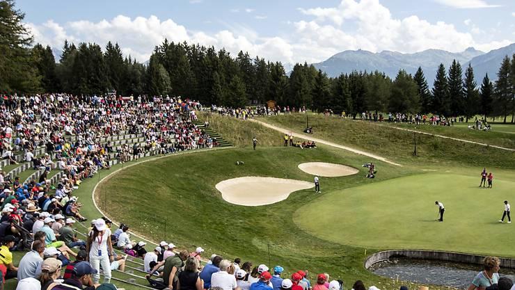 Der berühmte Golfplatz in Crans-Montana wurde erstmals mit weniger als 60 Schlägen bewältigt