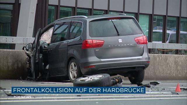 3 Verletzte nach Unfall auf Hardbrücke
