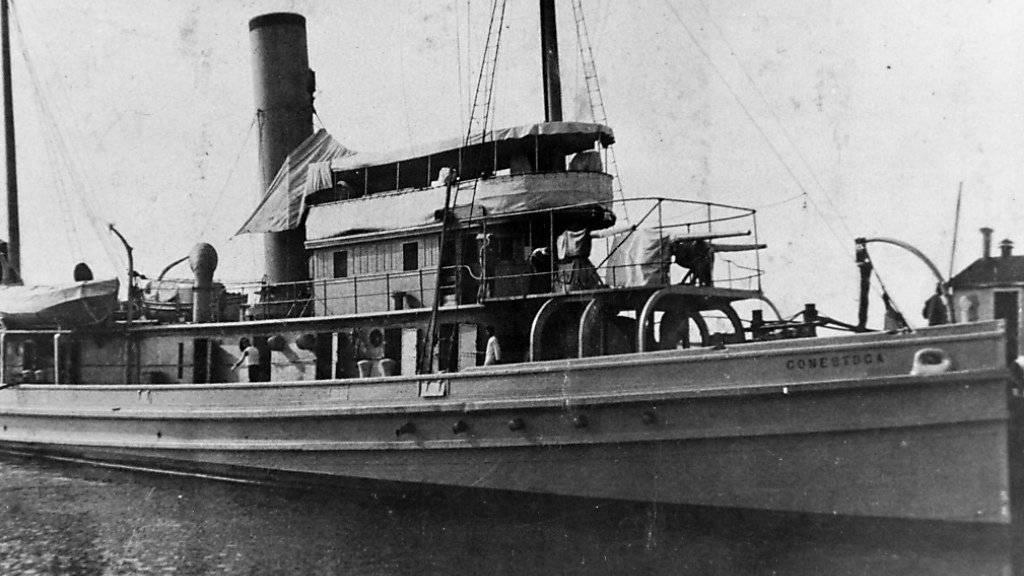 Historische Aufnahme der 1921 verschwundenen «USS Conestoga»