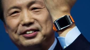 Samsung präsentiert seine Smartwatch