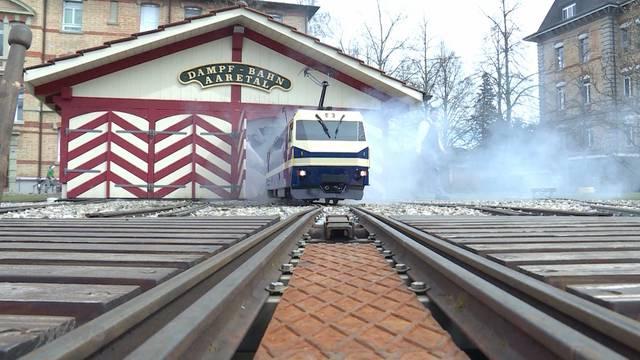 Durch Münsingen tuckert wieder die Elektro-Lok