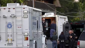 Ein Polizei-Einsatz in Aurora nach der Schiesserei im vergangenen Juli (Archiv)