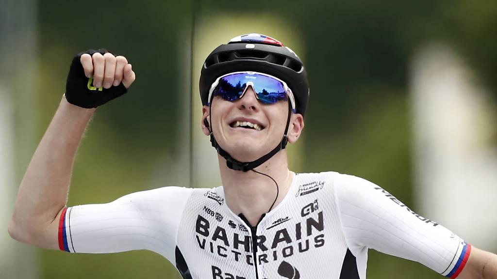 Matej Mohoric feierte seinen zweiten Etappensieg an der diesjährigen Tour de France