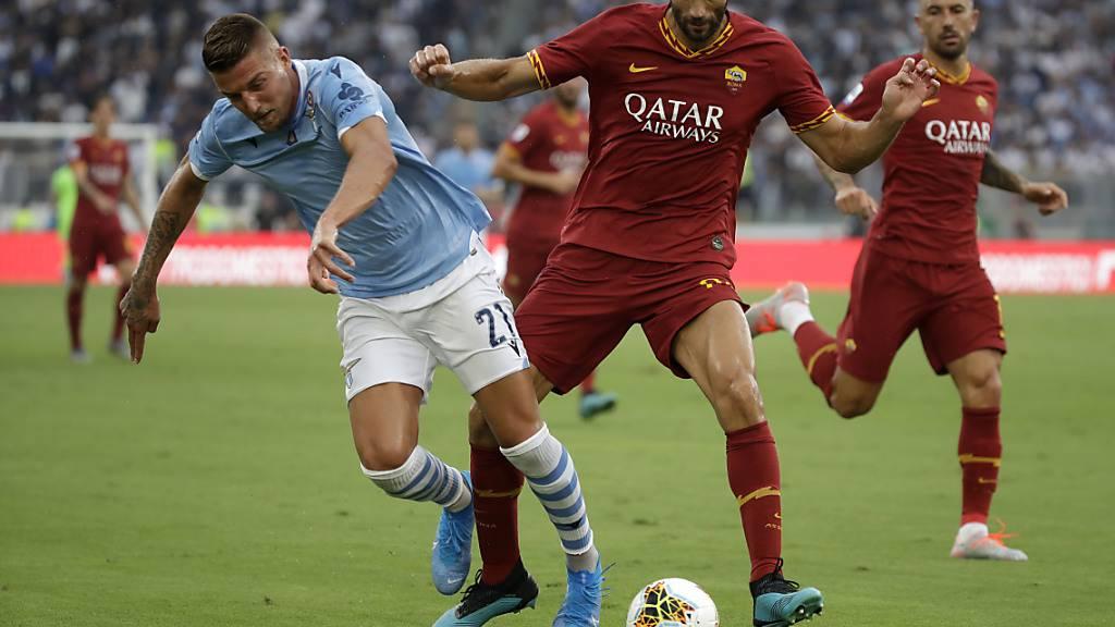 Lazio und die AS Roma trennen sich 1:1