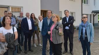 Grenzüberschreitendes Behördentreffen beider Rheinfelden
