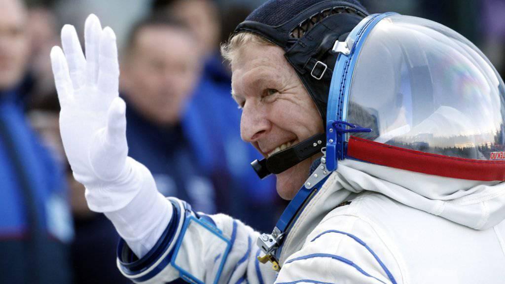 Ein Astronaut bewegt Grossbritannien: Timothy Peake ist der erste Brite im All seit 20 Jahren.