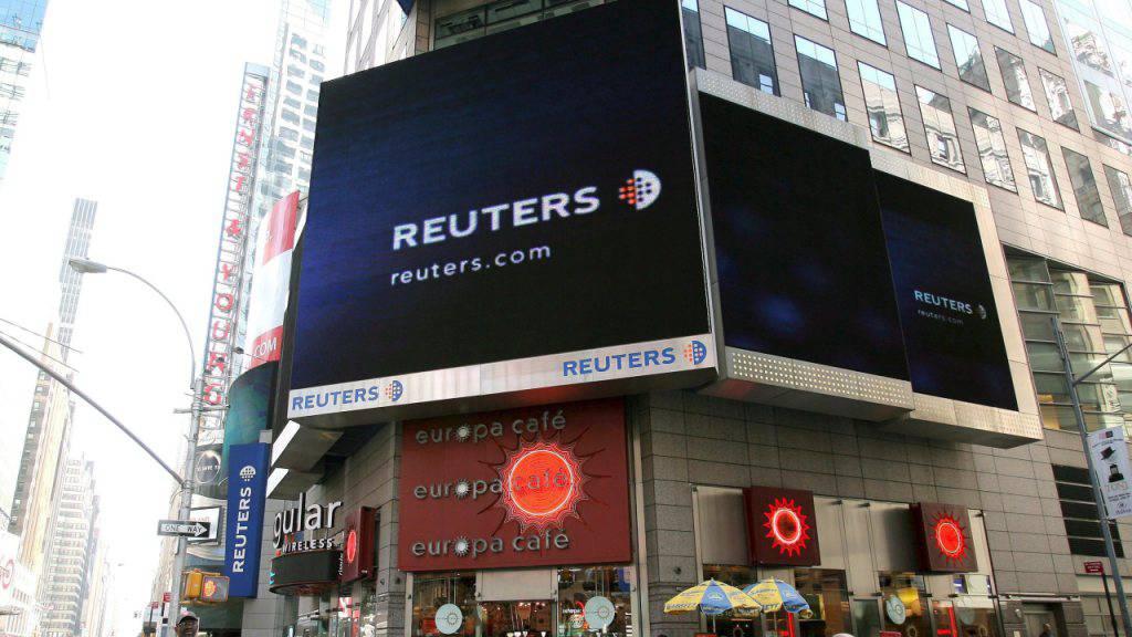Reuters bekam geheime Gelder von Grossbritannien