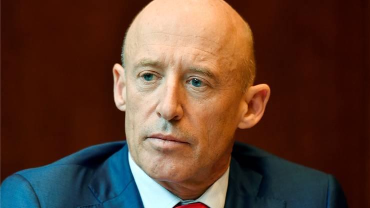 Nicht länger Chef der Raiffeisen: Patrik Gisel.