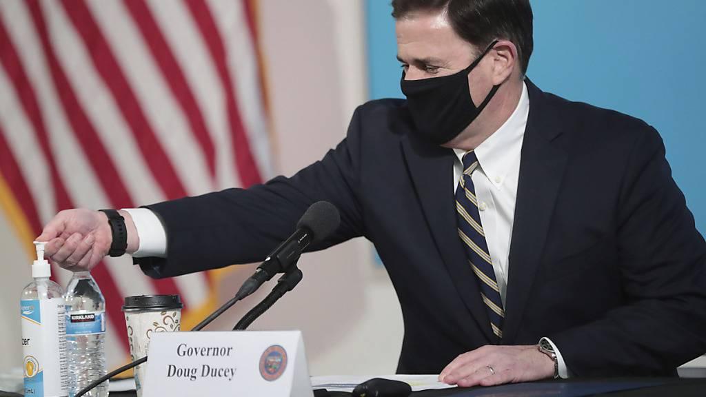 Arizona führt Corona-Beschränkungen wieder ein