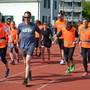 Verein Lauftreff Limmattal organisiert Training mit blinden und sehbehinderten Menschen