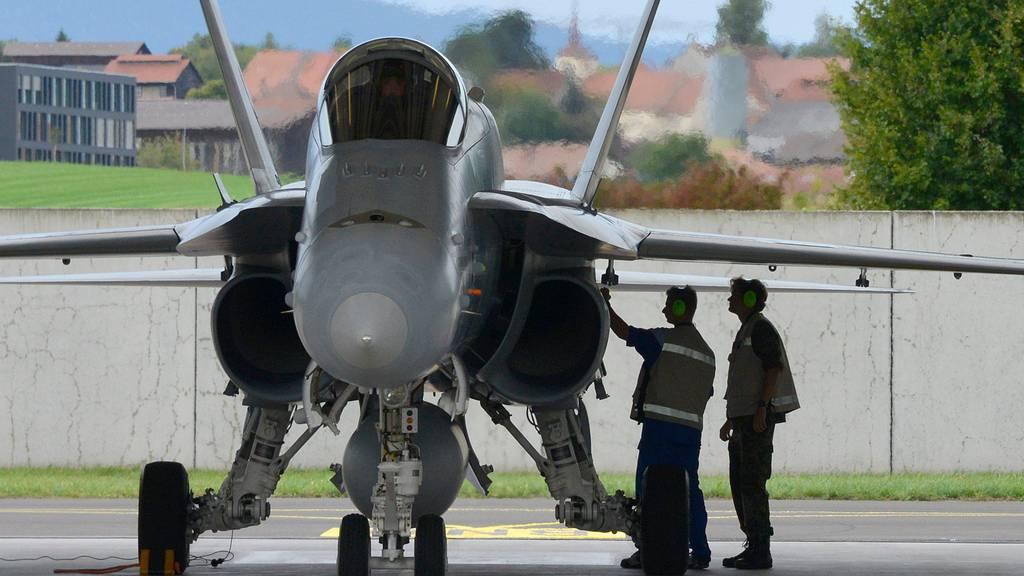 «Es geht diesmal um etwas anderes»: So werben Befürworter für neue Kampfjets