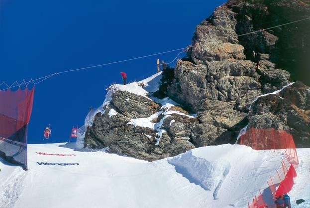 Geht es nach Swiss Ski, müsste über dem Hundschopf längst ein Werbebanner hängen.