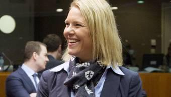 Norwegens umstrittene Justiz- und Einwanderungsministerin Sylvi Listhaug ist zurückgetreten. (Archivbild)