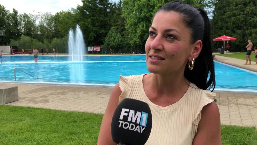 Sommerwetter: Viele Ostschweizer zieht es ins Freibad