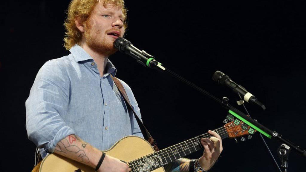 Ed Sheeran kommt nach Zürich. (Archiv)