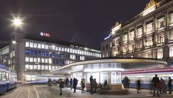 Die Schweizerische Nationalbank (SNB) attestiert den Grossbanken UBS und CS, dass sie für Krisenzeiten besser gewappnet sind als noch vor einem Jahr. Trotzdem sieht sie noch weiteren Handlungsbedarf. (Archiv)