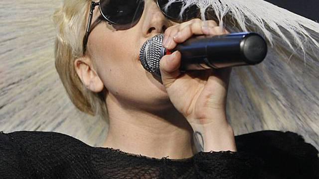 Bekannt für ihre markigen Sprüche: Lady Gaga (Archiv)
