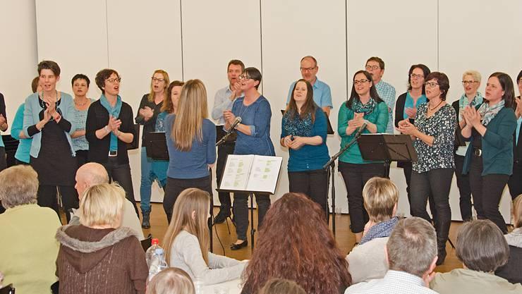 Die Glory Voices bedanken sich mit einem Konzert bei ihren Gönnern.