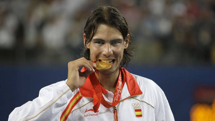 Olympiasieger Nadal in Peking