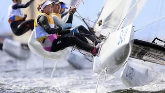 Nathalie Brugger und Matias Bühler beenden den Mixed-Wettbewerb Nacra 17 im 7. Rang