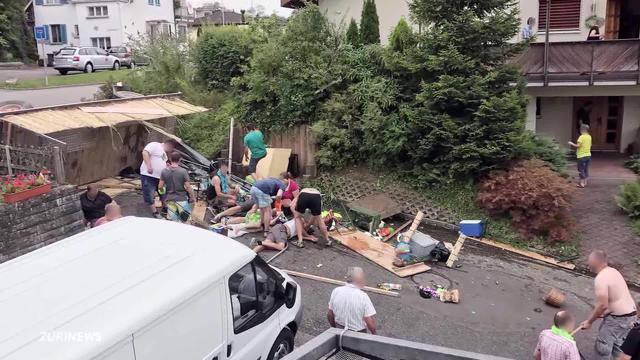 Wohlen: Polterabend endet mit 18 Verletzten