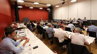 Auf der Traktandenliste der Einwohnerratssitzung vom kommenden 6. Dezember steht ein Planungskredit über 1.26 Millionen Franken für das Projekt «Lenzburg21». (Archivbild)