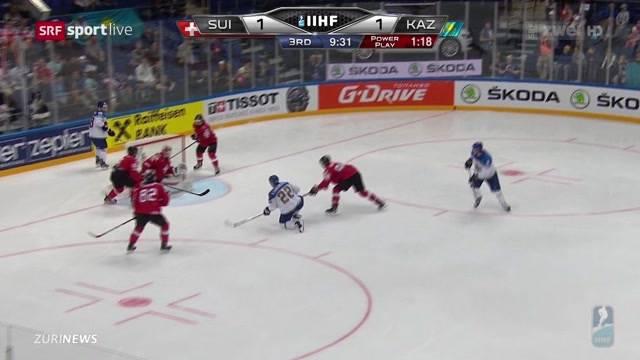Schweiz misslingt Eishockey-Auftakt