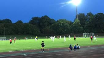 Testspiel des FC Aarau in Lenzburg