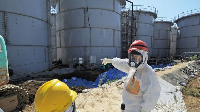 Inspektion der Tanks im Atomkraftwerk Fukushima (Archiv)