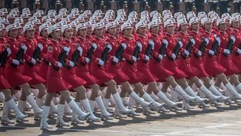Parade zum 70-Jahr-Jubiläum