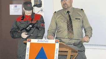 Zivilschutzkommandant der Regionalen Zivilschutzorganisation (RZSO) Grenchen Remo Schneider blickt zurück und vorwärts.