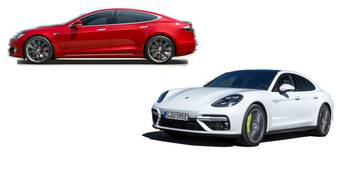 Porsche gegen Tesla