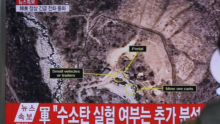 Laut der südkoreanischen Nachrichtenagentur Yonhap hat Nordkorea auf dem Testgelände die Vorbereitungen für die Zündung einer weiteren Atombombe abgeschlossen.