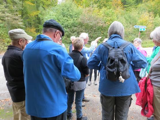Eine Wanderung nach Arisdorf mit der Wandergruppe Evang.Reformierte Kirche
