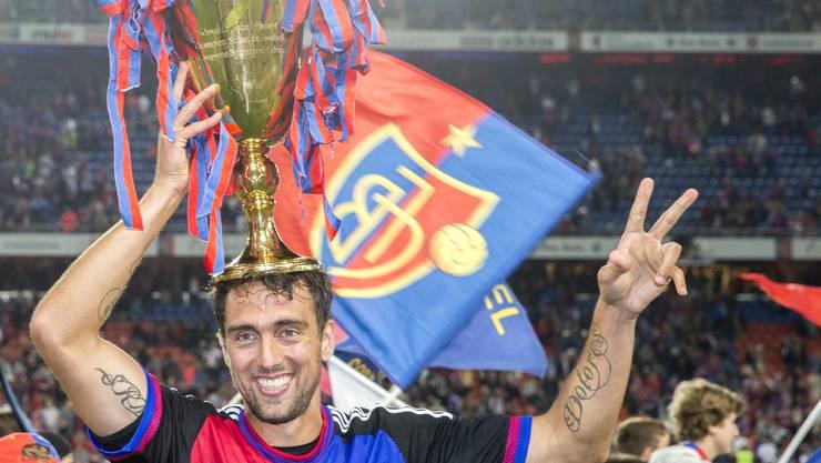 Matias Delgado will mit dem FCB das Double gewinnen.
