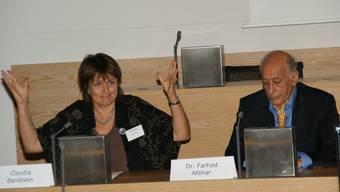 Claudia Bandixen, Präsidentin der reformierten Landeskirche Aargau, hat keine Bedenken, Kirchen umnutzen zu müssen