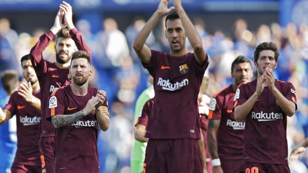 Barcelona darf trotz Fehlstart gegen Getafe jubeln