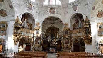 In der Klosterkirche Muri wird am Wochenende zum 950. Weihetag hoher Besuch aus dem In- und Ausland erwartet.