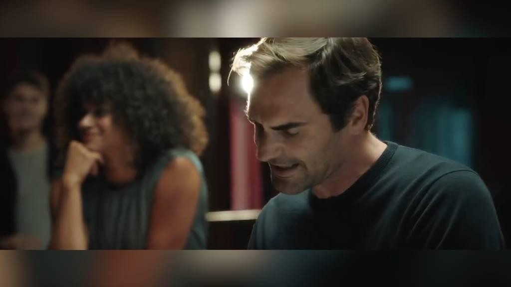 Roger Federer singt und tanzt für neue Sunrise-Abos