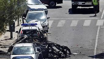 Im Sommer 2009 machte die ETA mit Bomben auf Mallorca auf sich aufmerksam (Archiv)