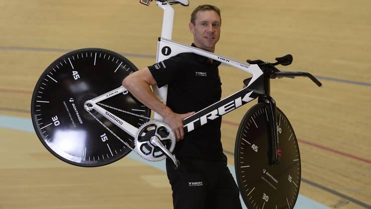 Der Weltrekord bildet den Abschluss seiner Profi-Karriere.