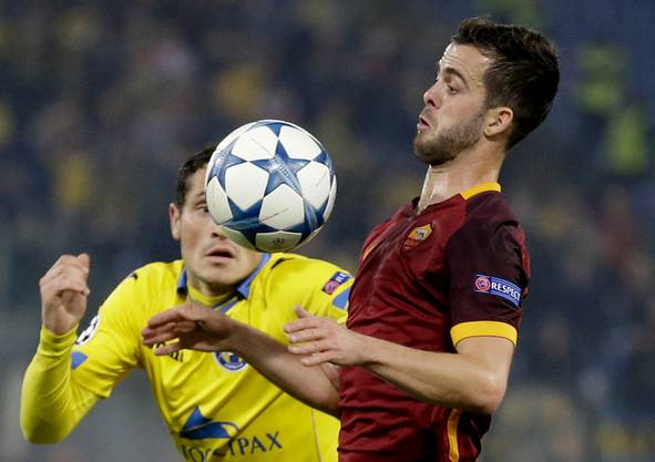 10. Miralem Pjanic, 32 Mio Euro: Der Bosnier verlässt die Roma und verstärkt das Mittelfeld des Serienmeisters Juventus.